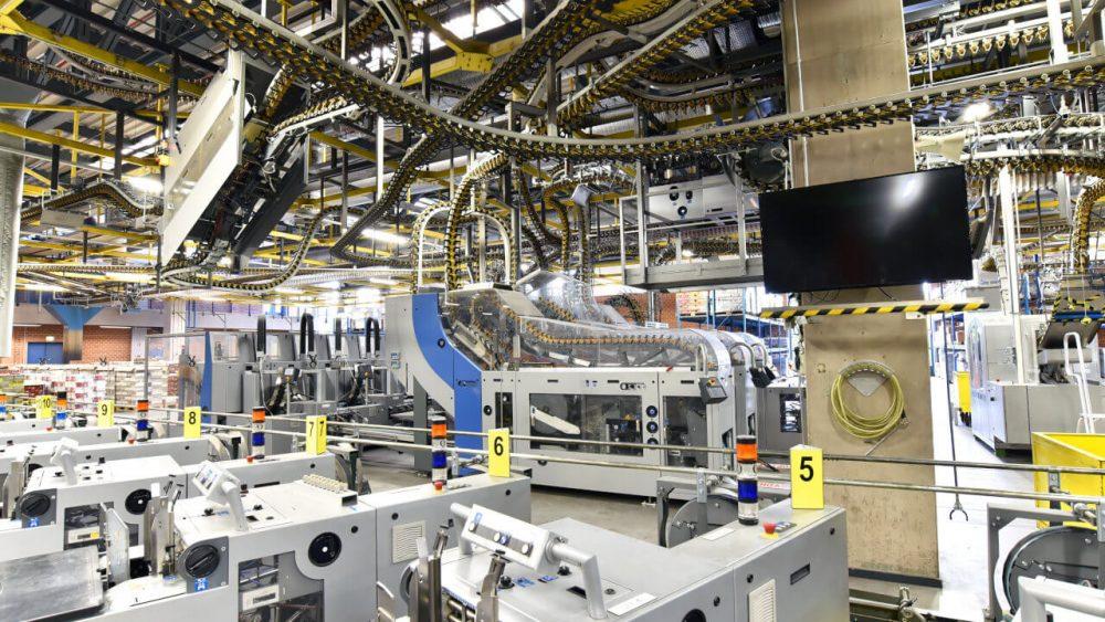 Hightech Produktionsanlagen schützen