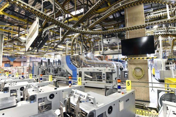 Hightech-Produktionsanlagen